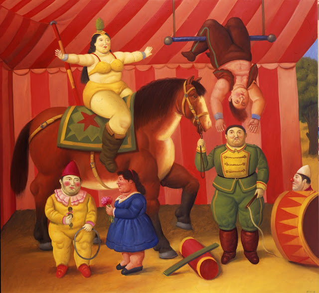 Circus,Botero,Colombian painter