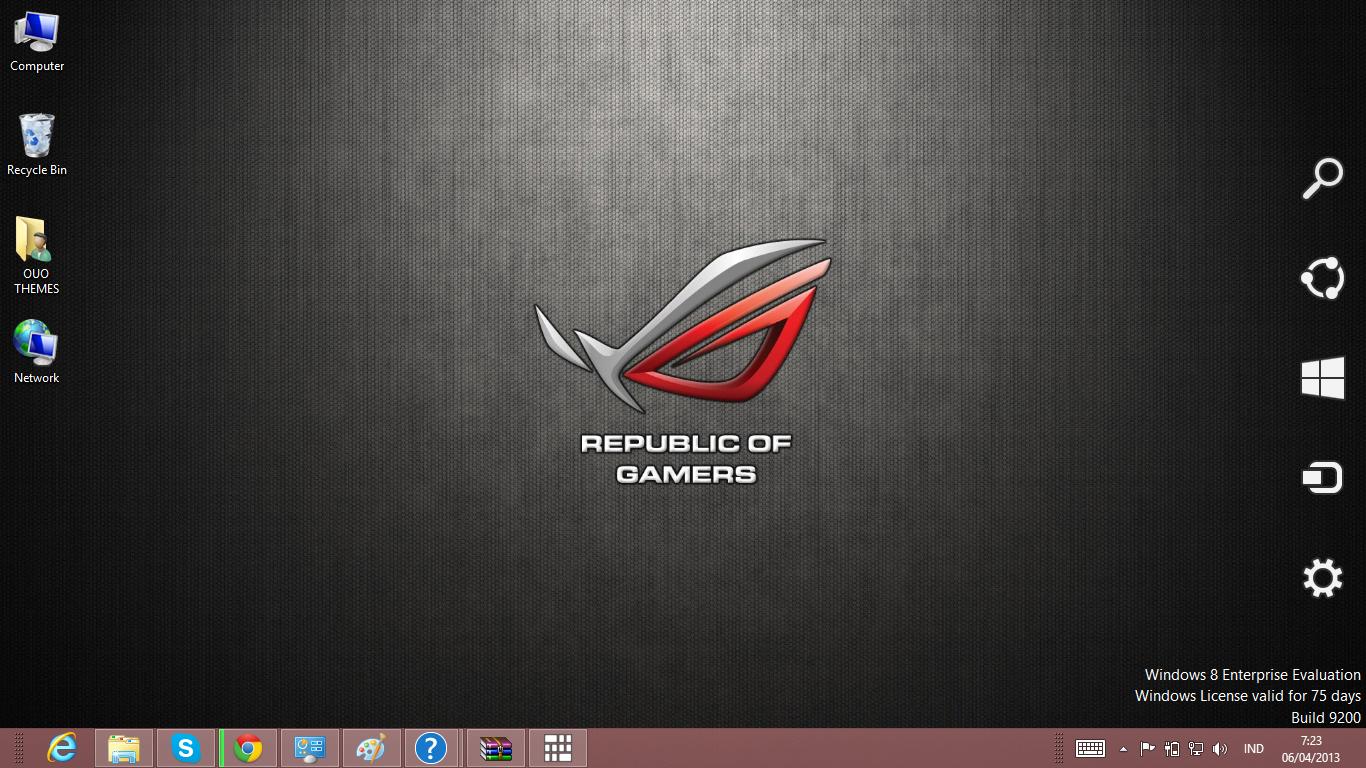 download gratis tema windows 7: Asus Theme For Windows 7 And 8