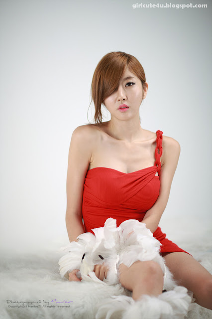 7 Choi Byeol Yee-Hot Red-very cute asian girl-girlcute4u.blogspot.com