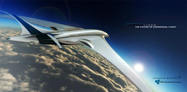 Jet konsep Lockheed Stratoliner berkuasa hidrogen