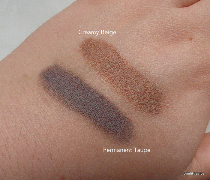 drugstore cream shadow matte brown mac groundwork dupe