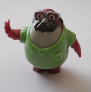 figura en minuatura de personaje Don Carlton