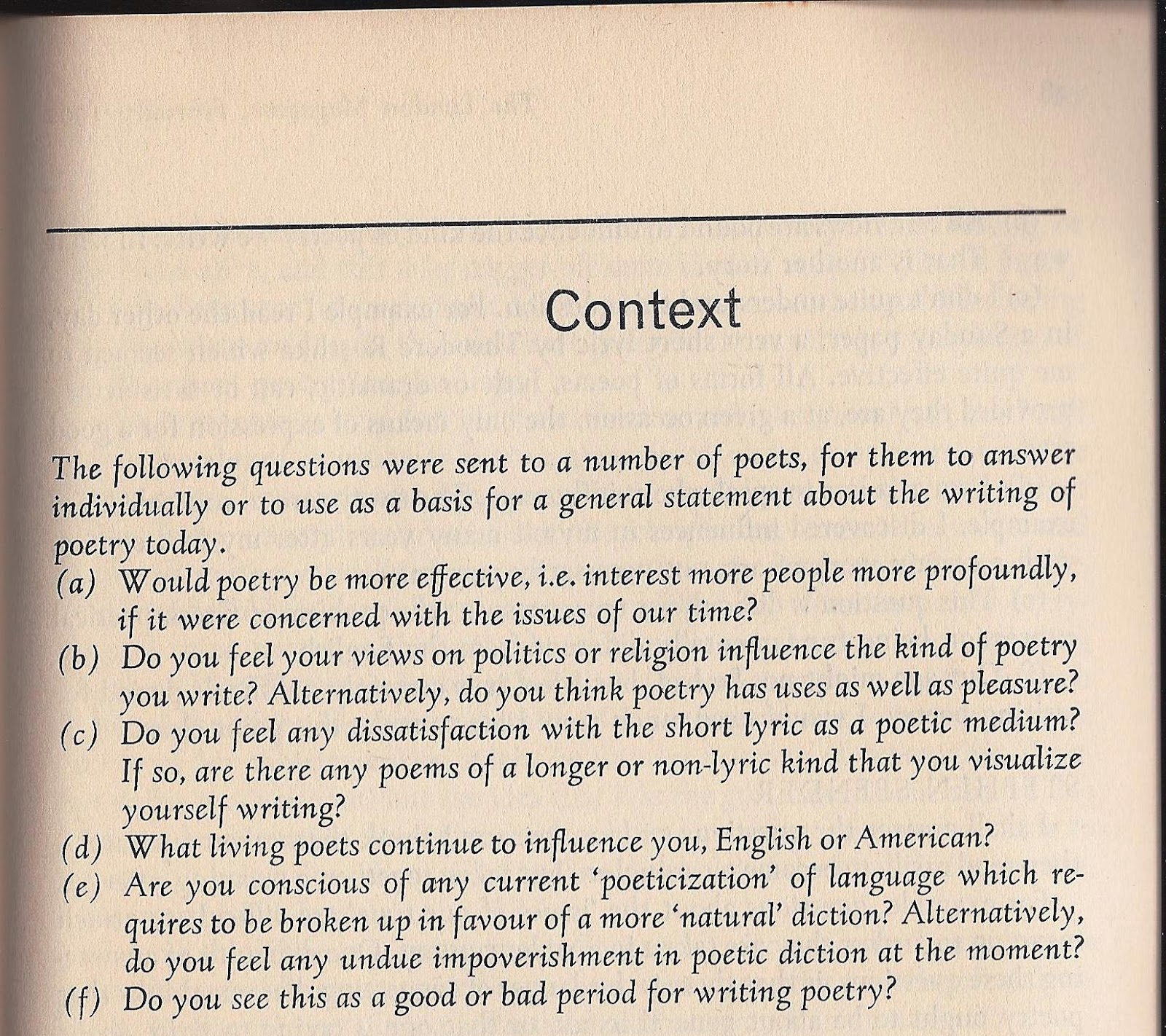 sylvia plath info putting sylvia plath s context in context the twenty six responses were submitted by in order of appearance in the issue robert graves george seferis stephen spender c day lewis