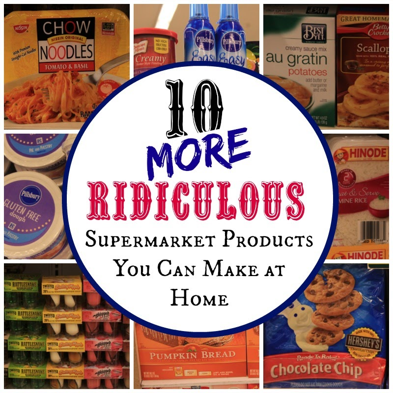 10 Supermarket Products You Can Make at Home