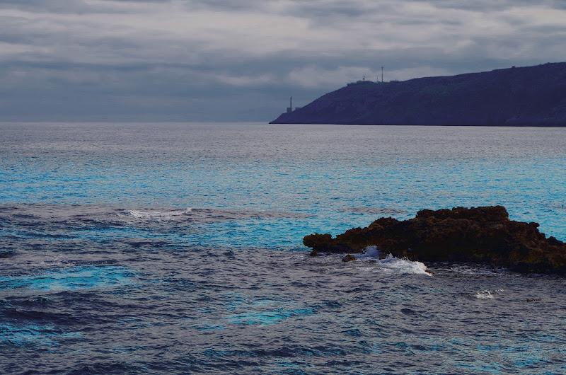 Der Leuchtturm Punta Palascìa, der östlichste Punkt Italiens (Otranto, Apulien)