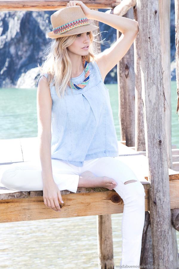 Remeras verano 2016. Túnicas verano 2016. Moda verano 2016 Af Jeans.