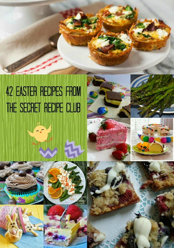42 Easter Recipes from the Secret Recipe Club | #spring #Easter #recipes #collage #collection #roundup
