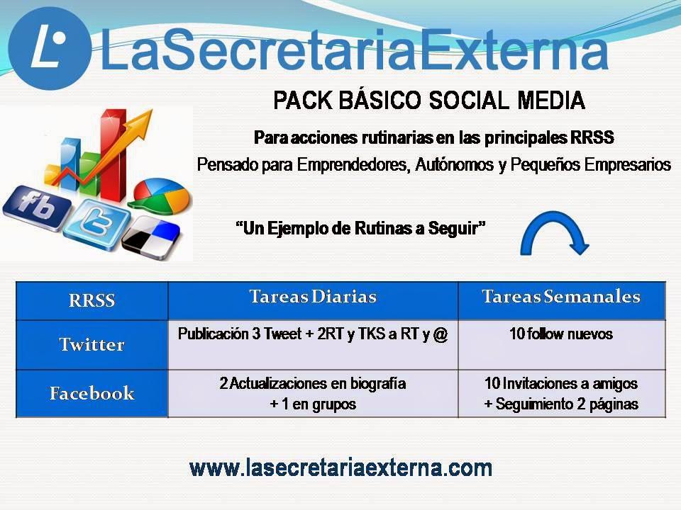 """PACK BÁSICO SOCIAL MEDIA"""