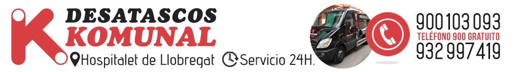 Desatascos en Hospitalet de Llobregat | PRESUPUESTO GRATUITO | 900 103 093