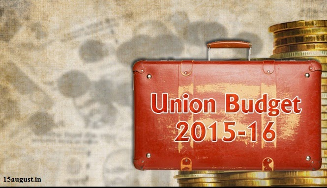 The Union Budget 2015-16 in PDF