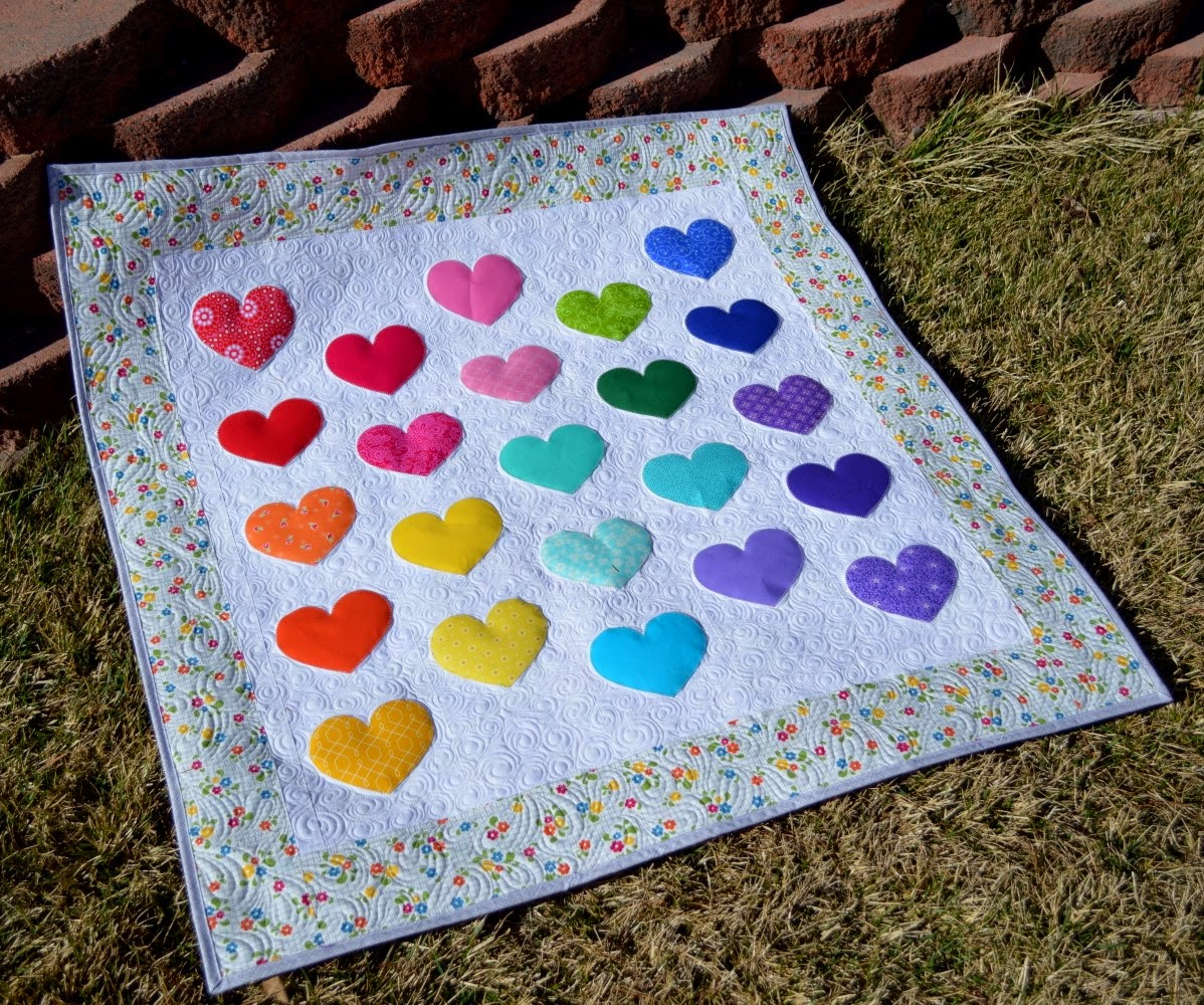 Happy Quilting Cutie Pie Baby Quilt A Tutorial And Giveaway