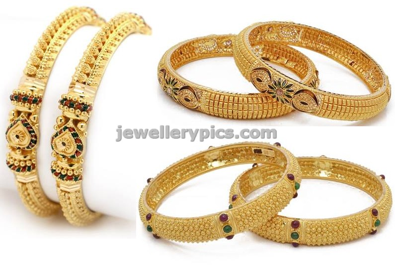 GRT jodi bangle mela designs latest collection Latest Jewellery
