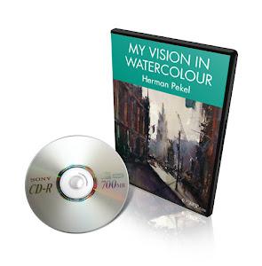 DVD MY VISION IN WATERCOLOUR HERMAN PEKEL