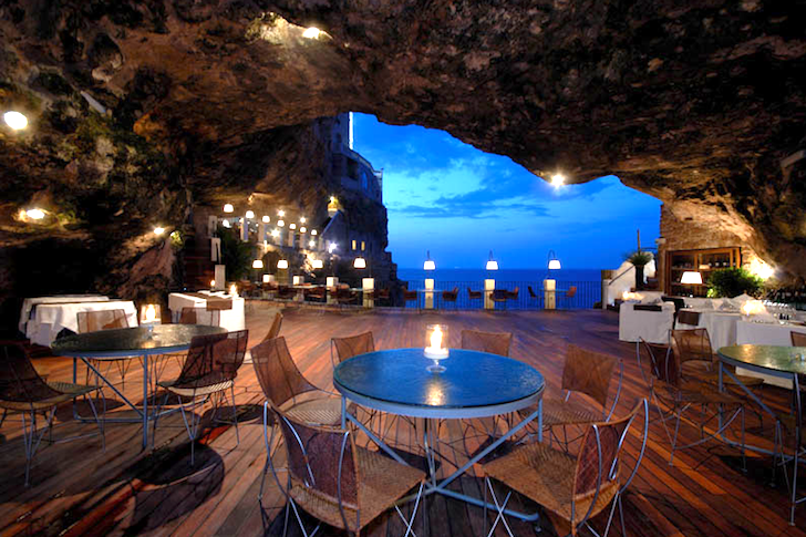 Cave Restaurant, Italy