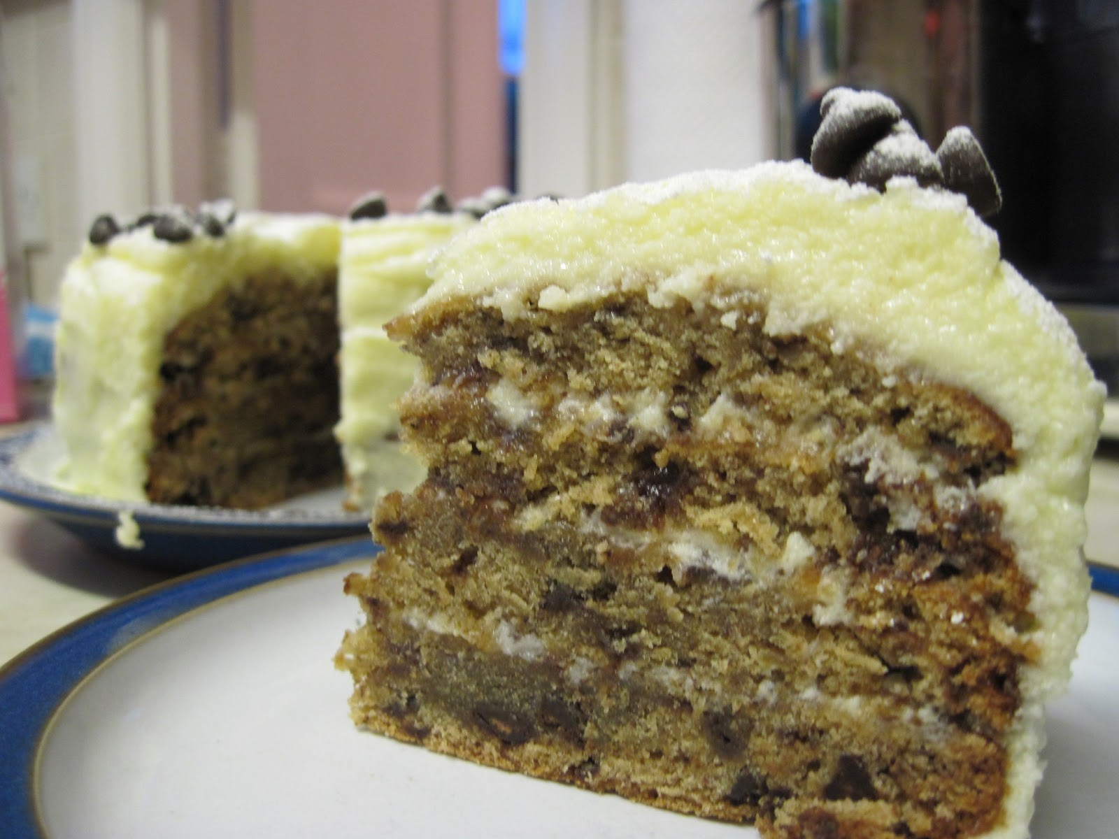 Images Of Chocolate Chip Cake : The Sugar Lump: Chocolate Chip Banana Cake