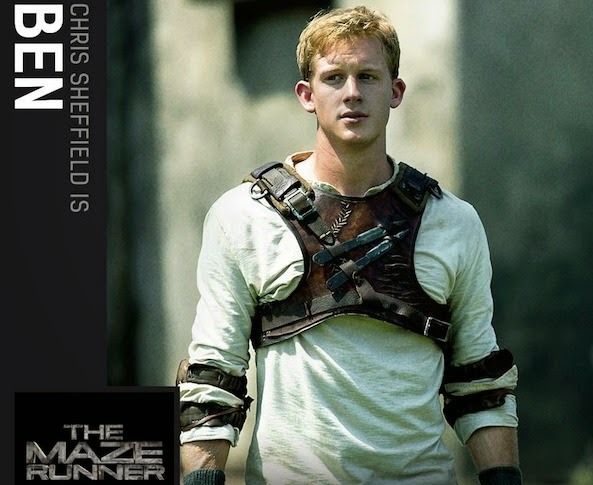 The Maze Runner Chris Sheffield
