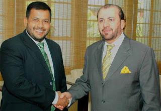 Minister Rishad Bathiudeen and New UAE Ambassador Abdul Hamid Abdul Fattah