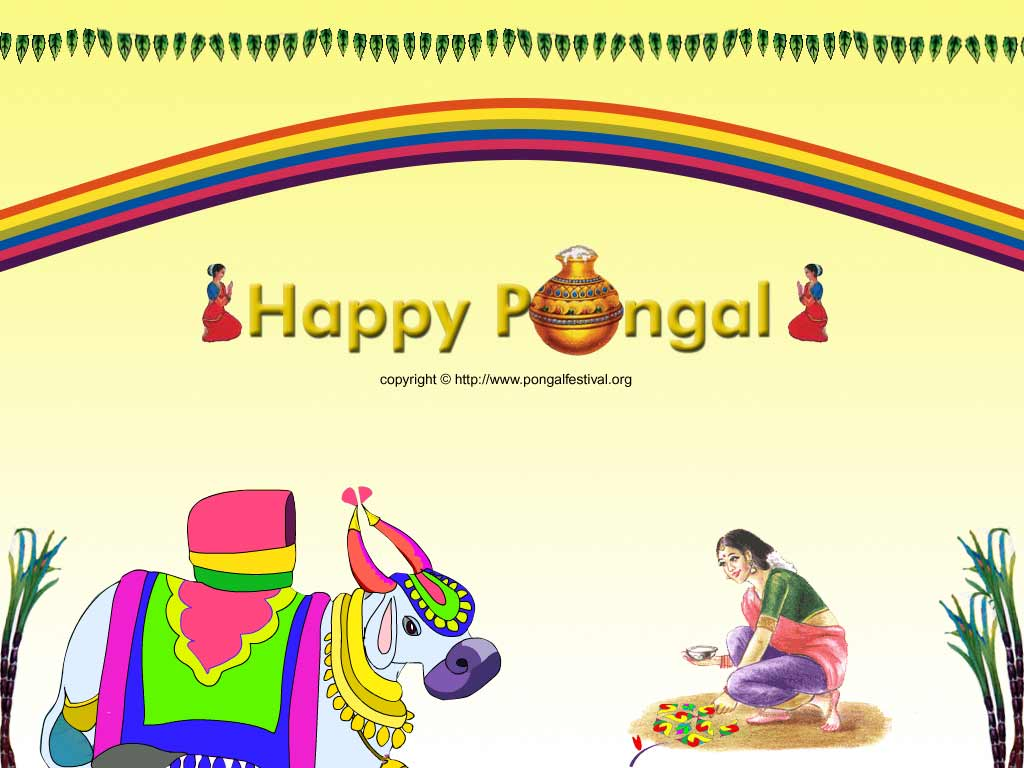 Wallpaper Mouth Mattu Pongal Greetings Pongal Tamil Greetings