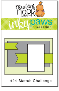 Inky Paws Challenge #24 | Sketch Challenge | Newton's Nook Designs #challenge #inkypaws #newtonsnook