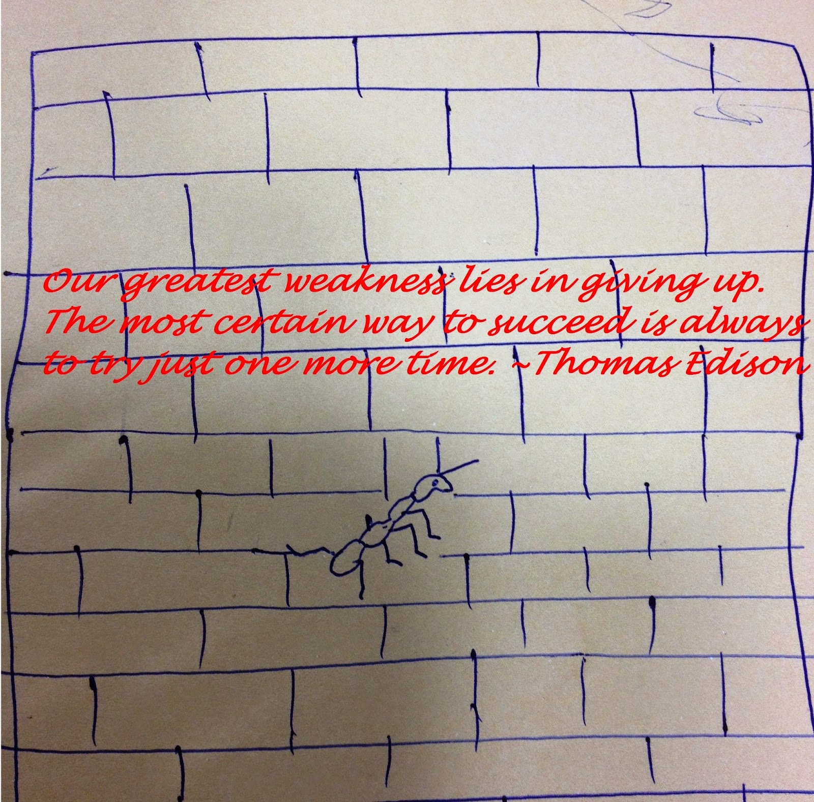 Optimism- Greatest Weakness-Thomas Edison