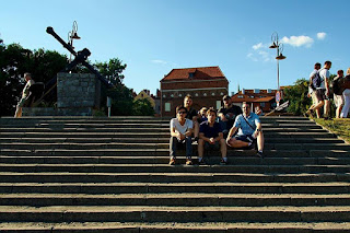 With friends in Torun