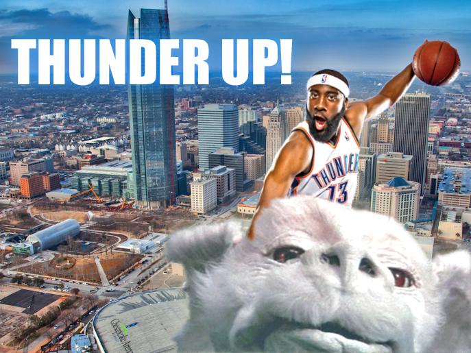 thunder up