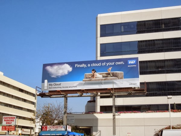 My cloud of your own WD sofa billboard