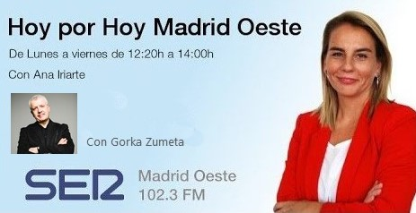 GORKA ZUMETA EN SER MADRID OESTE
