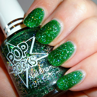 Pop Rocks Groupie Nail Polish Swatch