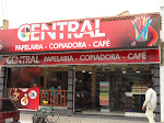 Central Copiadora, Papelaria e Café.