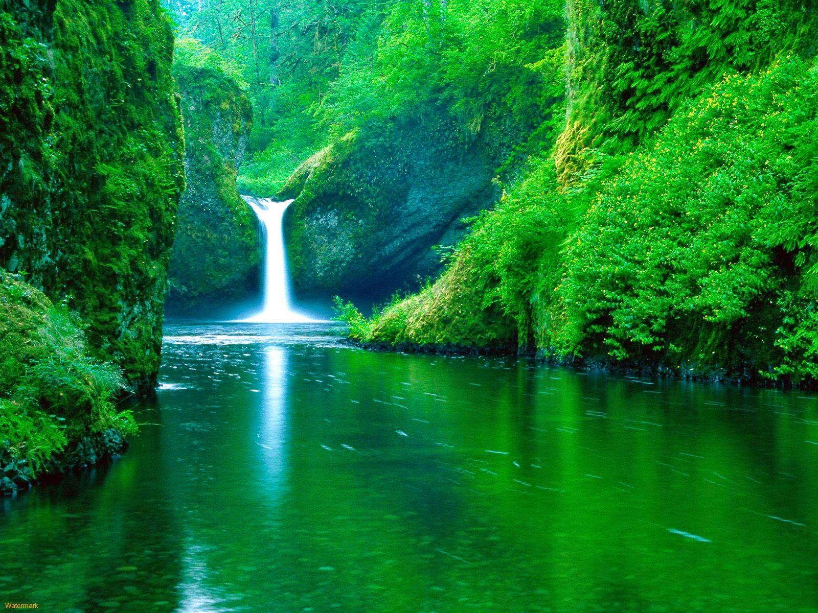 Gambar Air Terjun Tercantik di Dunia Wallaper Pemandangan Alam Indah