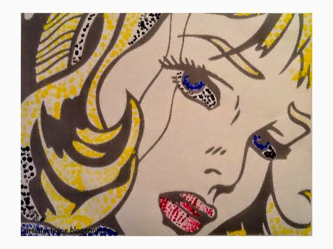 Roy Lichtenstein Art Activity
