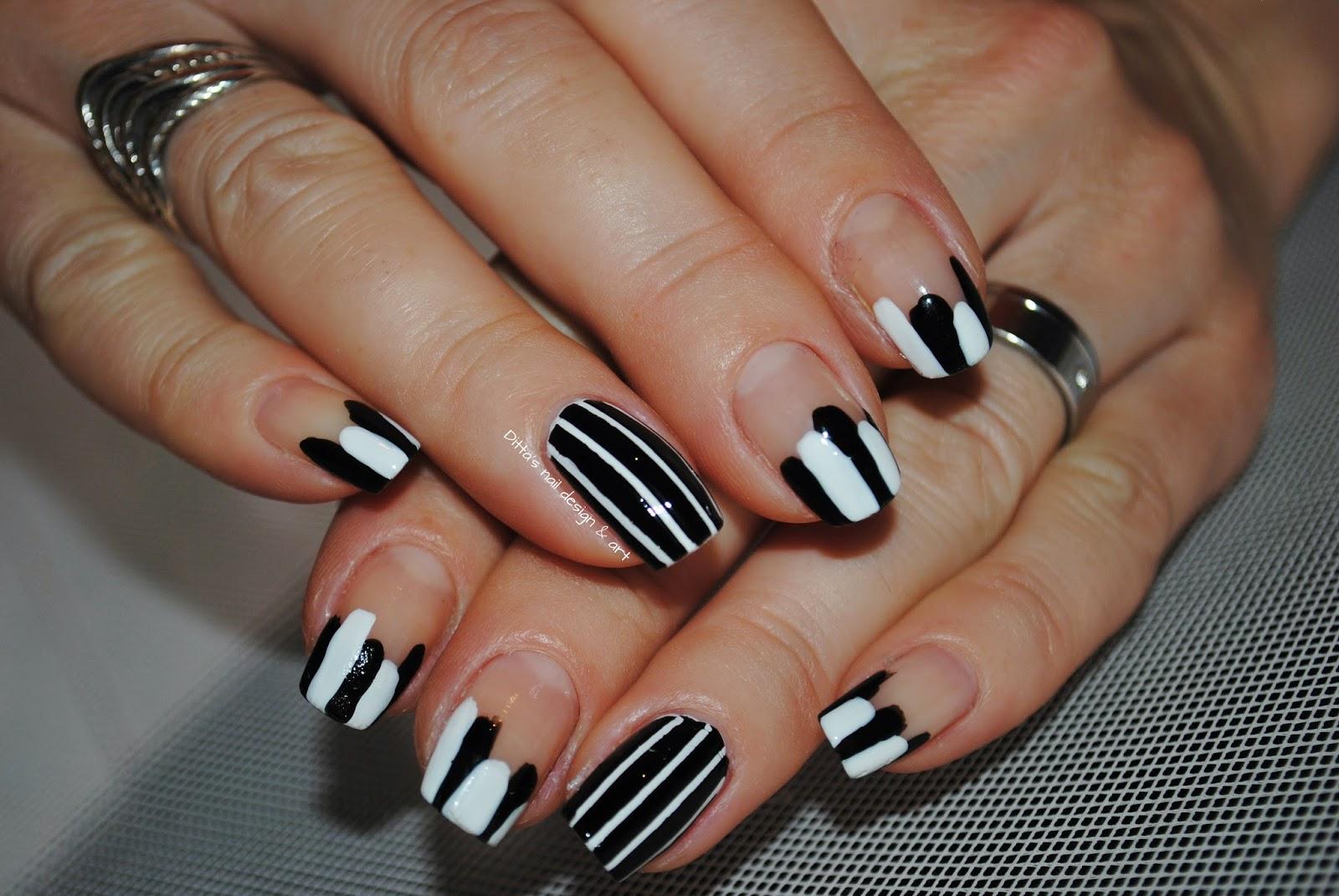 Ditta\'s nail design & art : Alphabet nail art challenge - Letter J