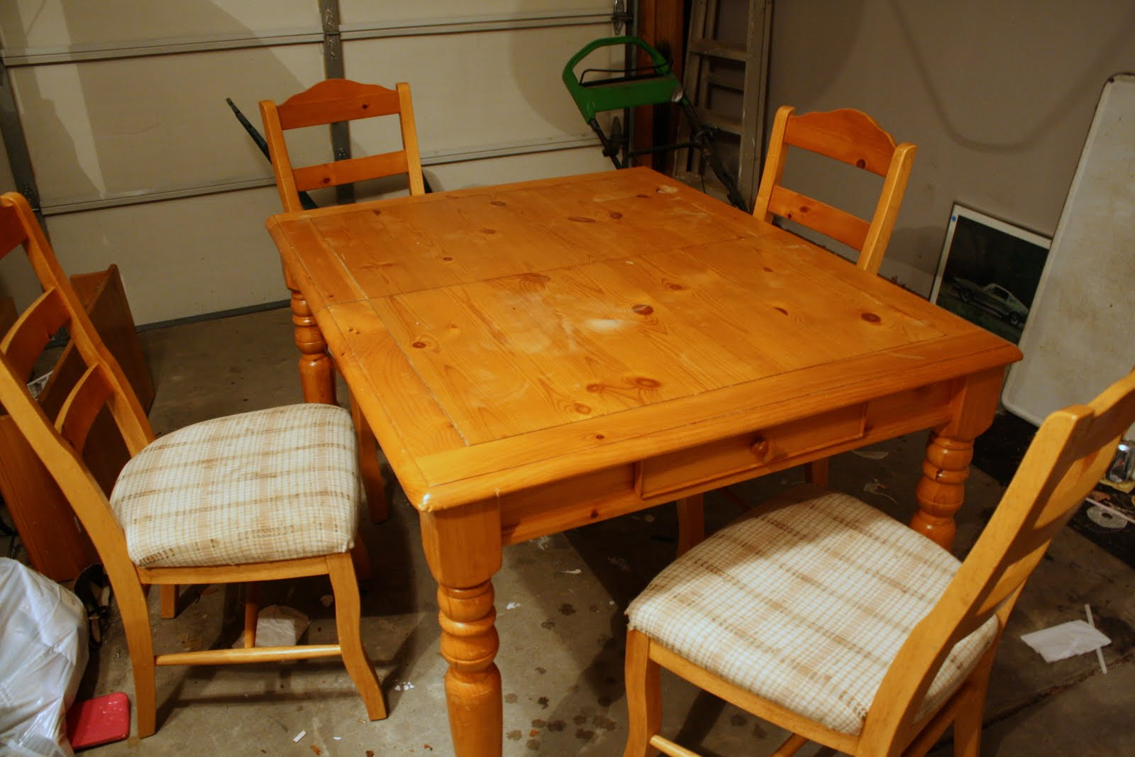 Refinishing The Dining Room Table Part 57