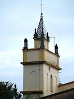 Detall de la torre de Can Pagès Nou