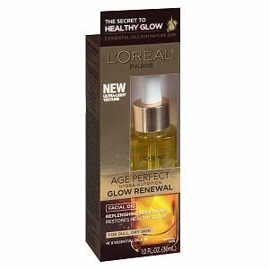 L'Oreal Paris, L'Oreal Paris Age Perfect Hydra-Nutrition Glow Renewal Facial Oil, face oil, skin, skincare, skin care