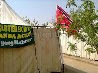 Baru Tahu, Bendera Aceh Juga Pernah Berkibar di Padang Arafah