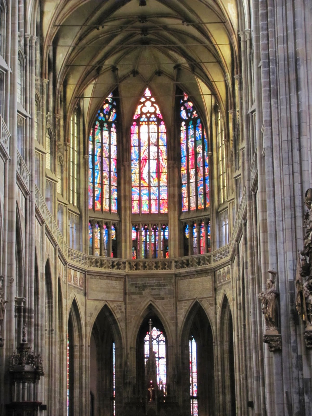 St. Vitus' Cathedral Interior