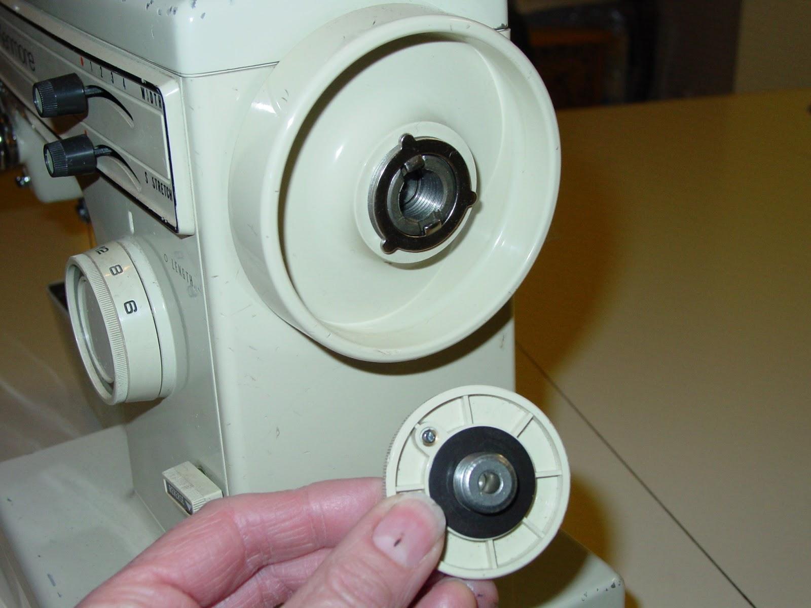 how to fix bobbin winder on sewing machine