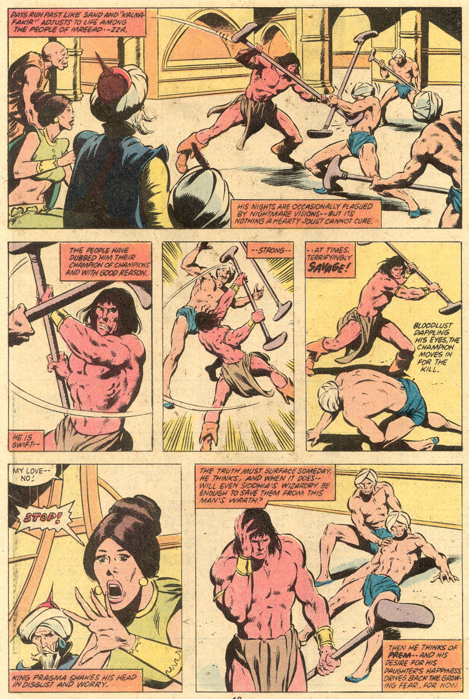 Conan the Barbarian (1970) Issue #121 #133 - English 15