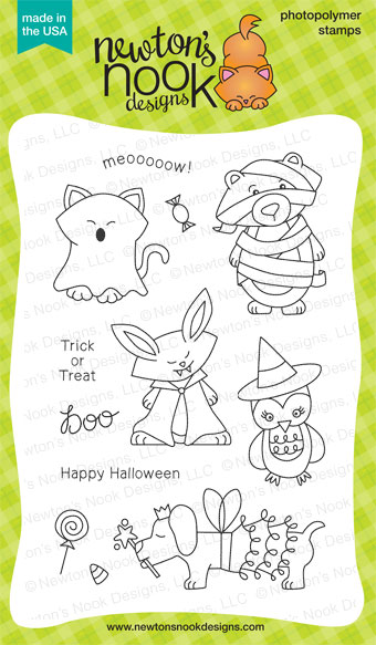 Boo Crew Stamp set by Newton's Nook Designs