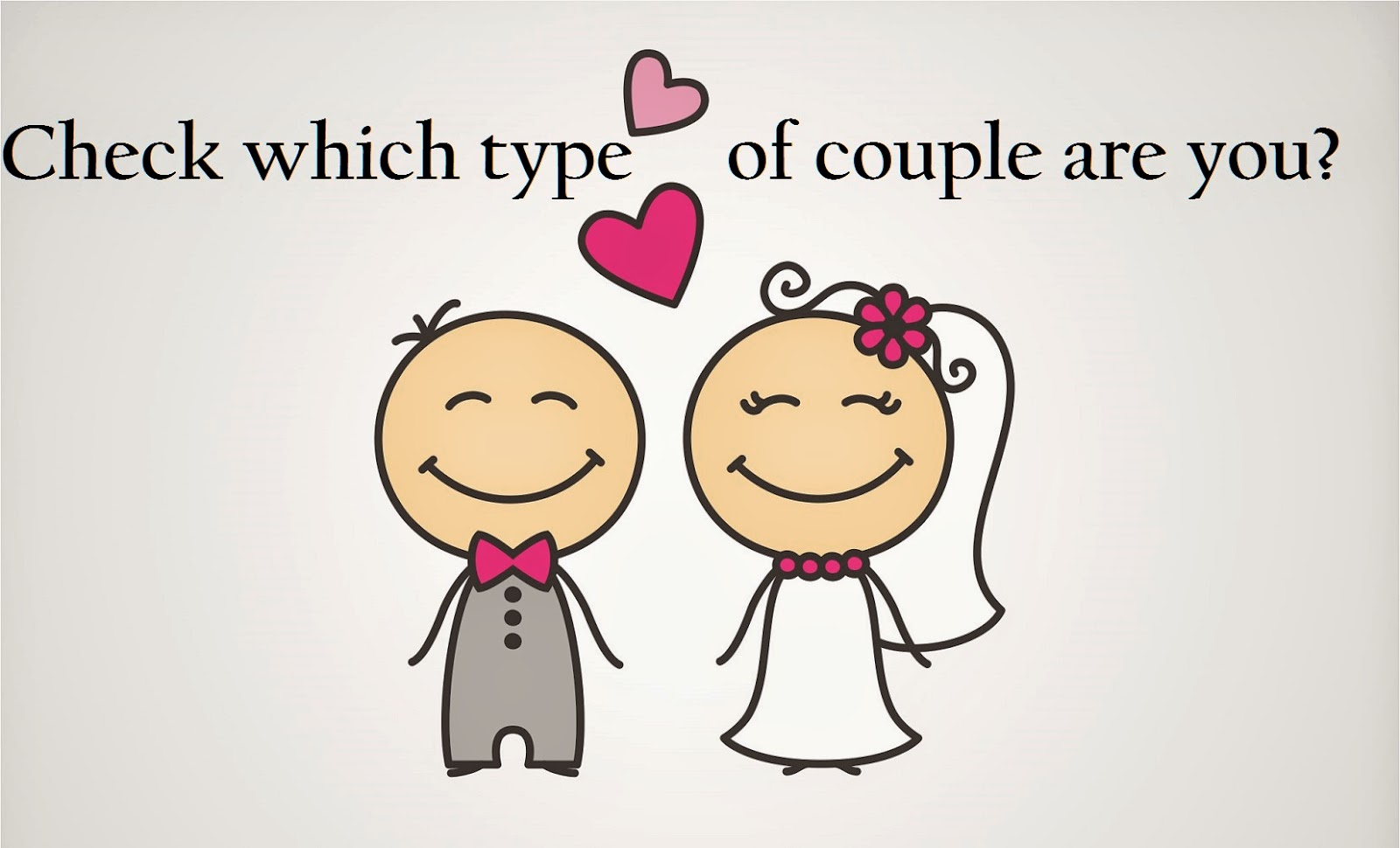 Check which type of couple you are