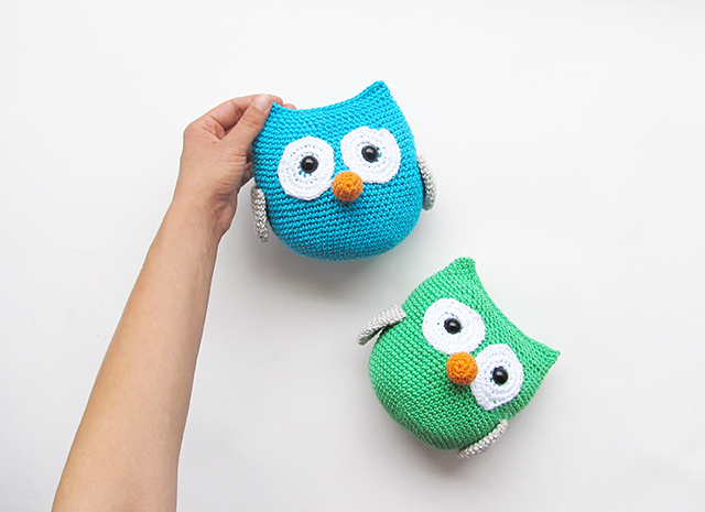 Amigurumi Patterns Owl : Amigurumi Owl Pattern - Little Things Blogged