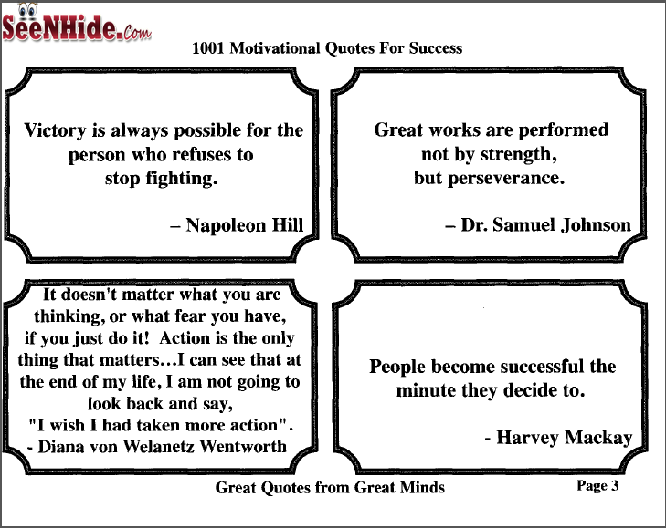 1001 Motivational Quotes For Your Success Book Download Seen Hide