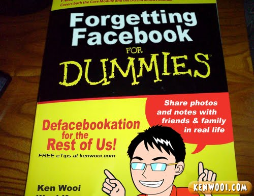 forgetting facebook for dummies
