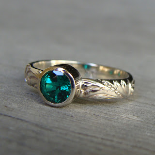 ethical emerald ring