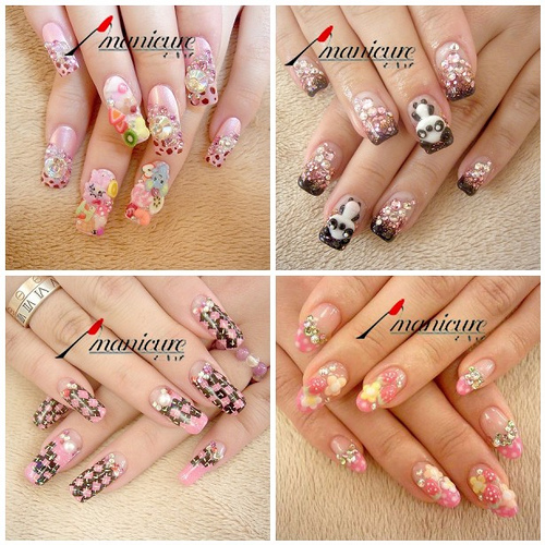 Nail Art: Cute and Sexy Styles