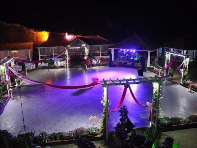 THE VILLAGE Wedding Hall Nuvem Goa Dance Floor