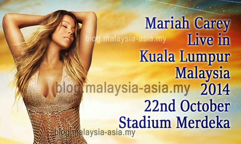 Mariah Carey Concert in Malaysia 2014