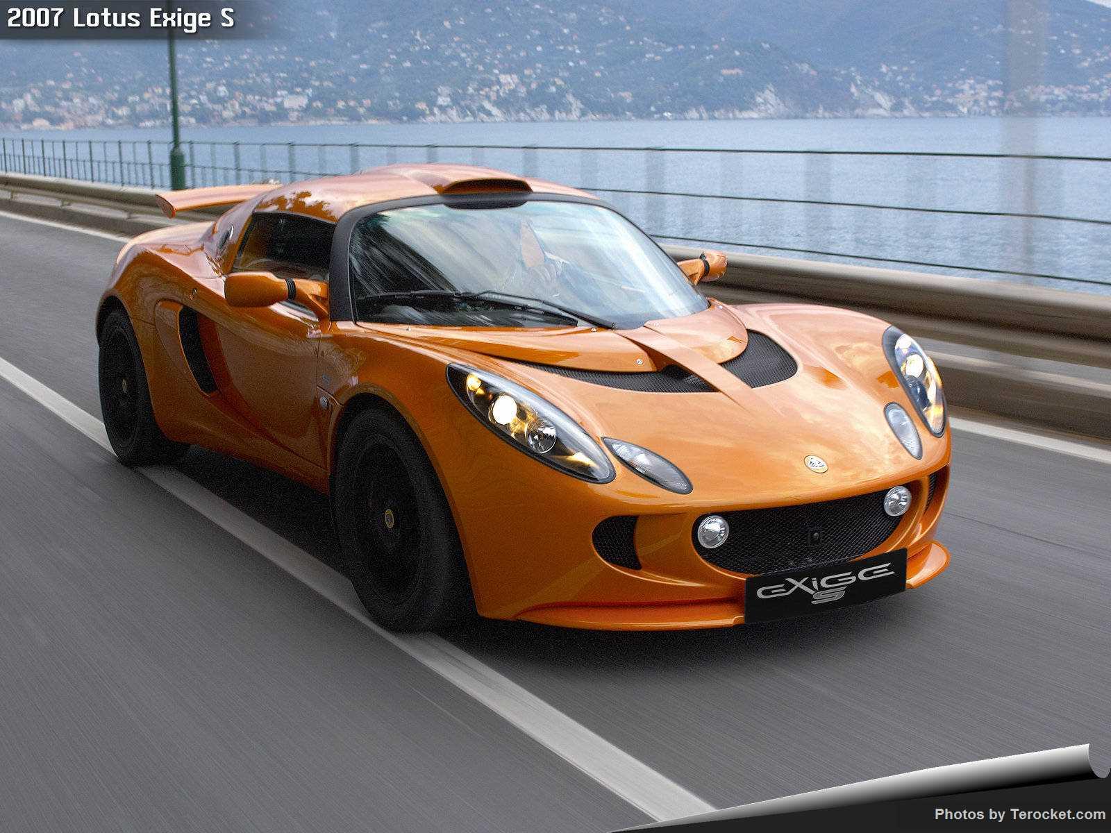 Hình ảnh siêu xe Lotus Exige S 2007 & nội ngoại thất